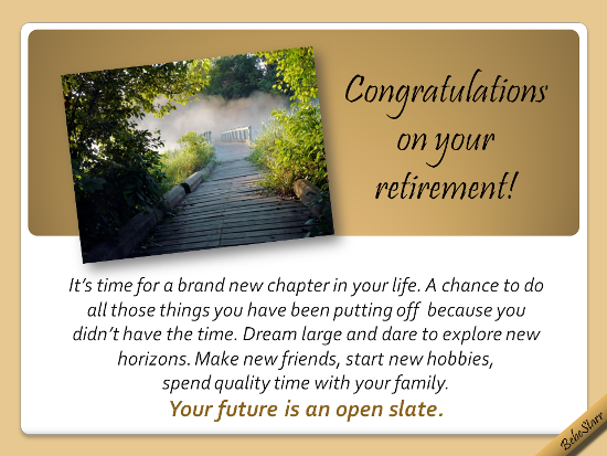 Retirement Message Categories Archives - Retirement Card ...