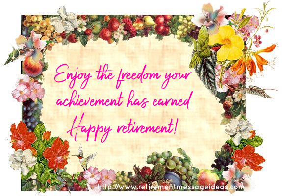 Retirement Card Messages 2