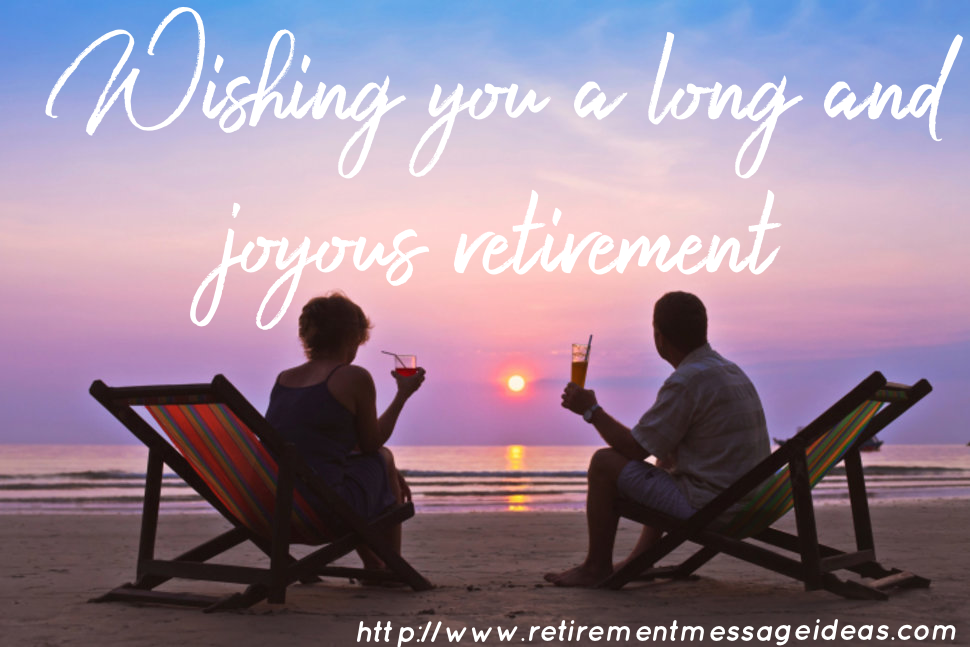 Retirement Wishes and Messages 1