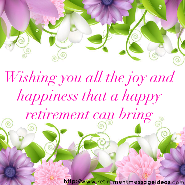 Retirement Wishes and Messages 2