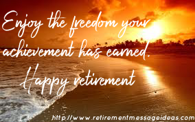 Retirement Wishes and Messages 3