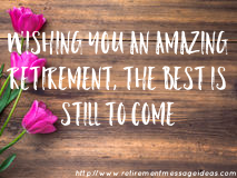 Retirement Wishes and Messages 4