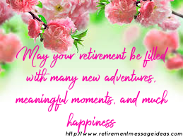 Retirement Wishes and Messages 5